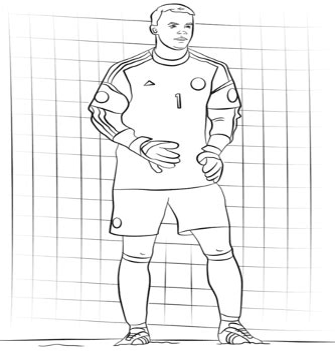 Ausmalbilder Fußball Fc Bayern München