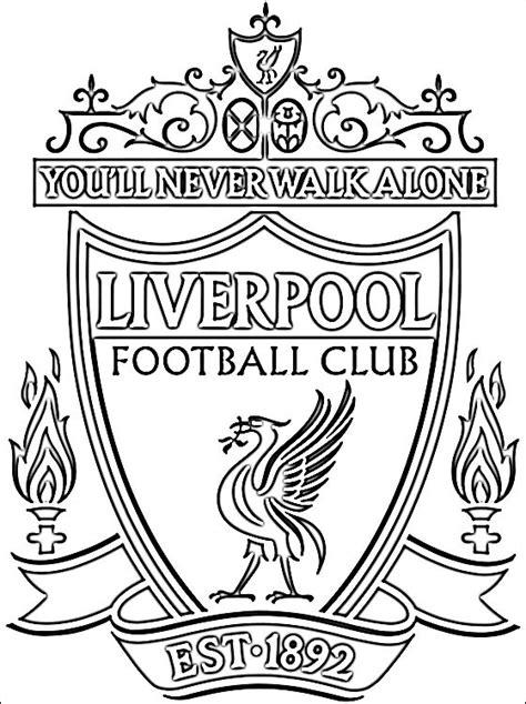 Ausmalbilder Fußball Liverpool