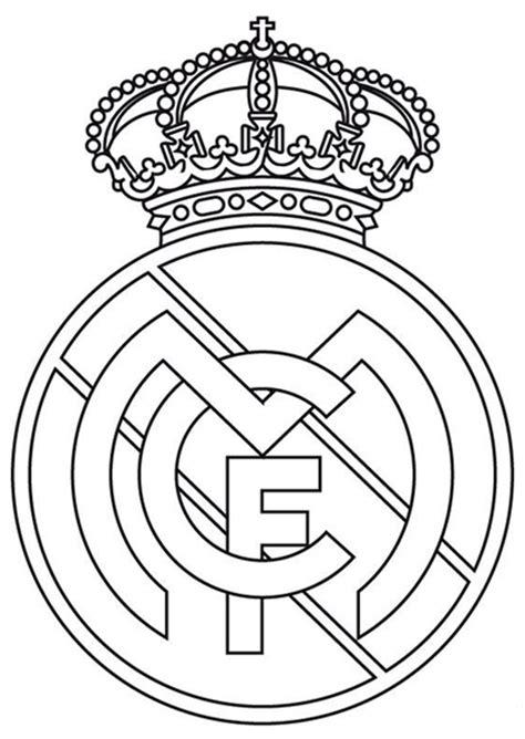 Ausmalbilder Fußball Real Madrid