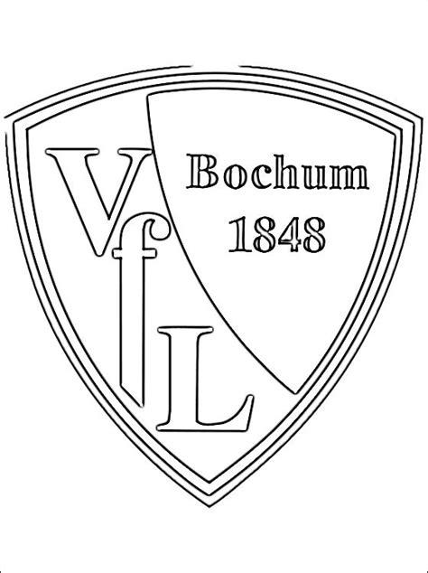 Ausmalbilder Fußball Vfl Bochum