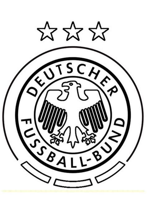 Ausmalbilder Fußball Wappen Deutschland