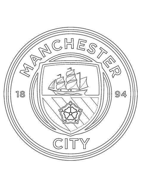 Ausmalbilder Fussball Manchester City