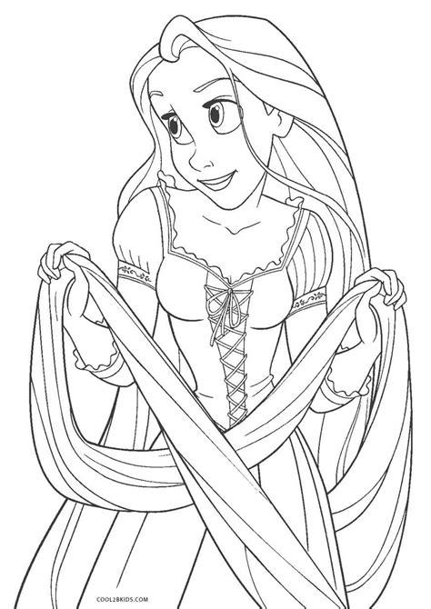 Ausmalbilder Gratis Rapunzel Neu Verföhnt