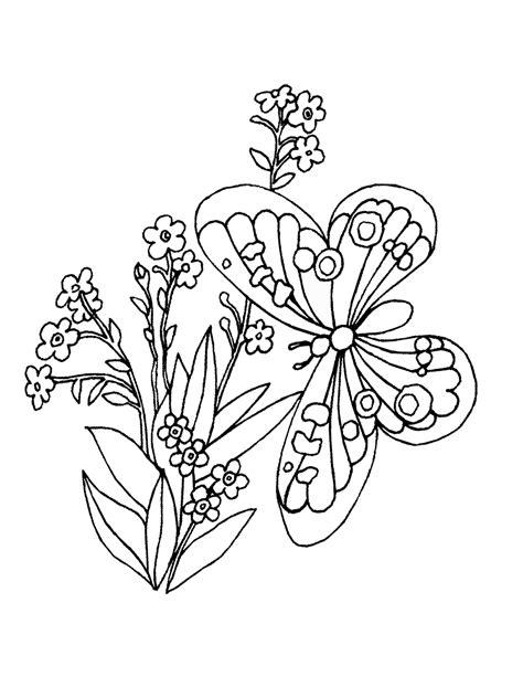 Ausmalbilder Grundschule Frühling