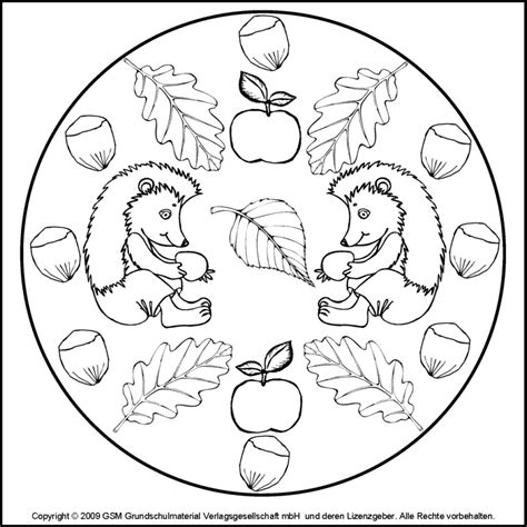 Ausmalbilder Herbst Kostenlos Mandala