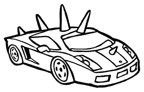 Ausmalbilder Jungs Autos