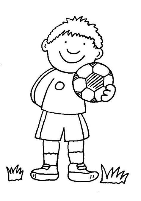 Ausmalbilder Jungs Fussball