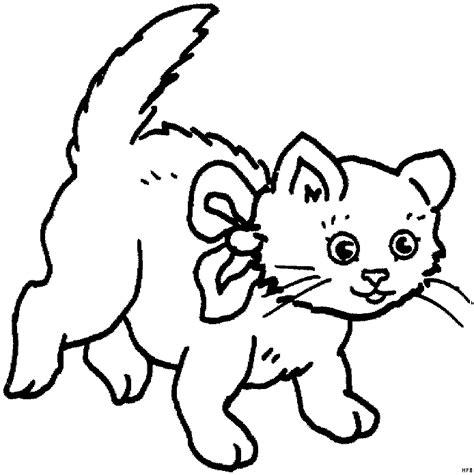 Ausmalbilder Katze Mit Schleife