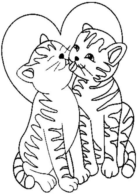 Ausmalbilder Katzen Ausdrucken
