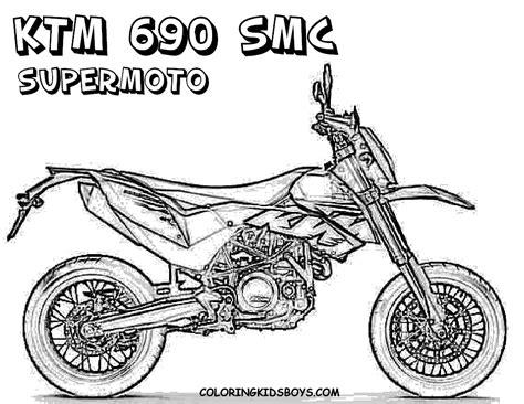 Ausmalbilder Kostenlos Ausdrucken Motocross