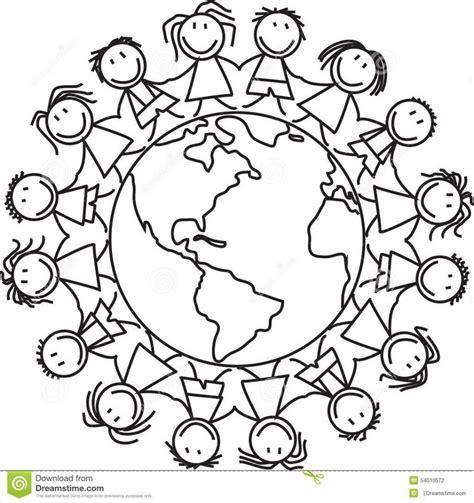 Ausmalbilder Kostenlos Kinder Dieser Welt
