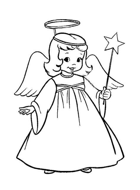Ausmalbilder Kostenlos Zum Ausdrucken Engel