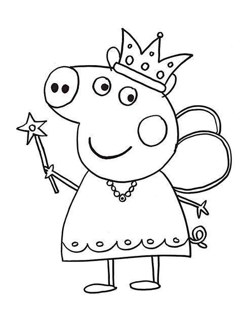 Ausmalbilder Kostenlos Zum Ausdrucken Peppa Pig