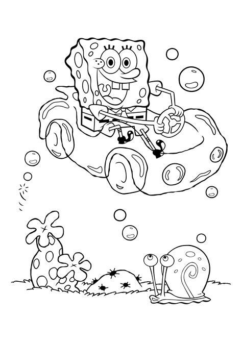 Ausmalbilder Kostenlos Zum Ausdrucken Spongebob