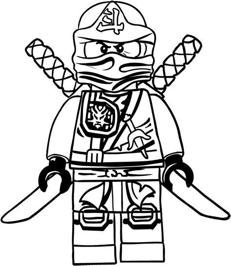 Ausmalbilder Lego Ninjago Lloyd