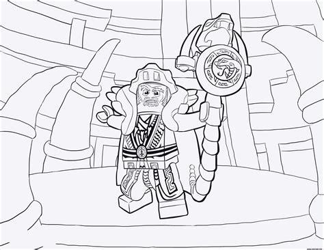 Ausmalbilder Lego Ninjago Meister Der Zeit