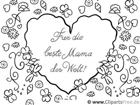 Ausmalbilder Liebe Mama