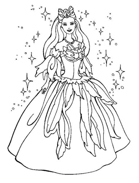 Ausmalbilder Mädchen Prinzessin