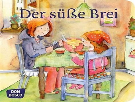 Ausmalbilder Märchen Der Süße Brei
