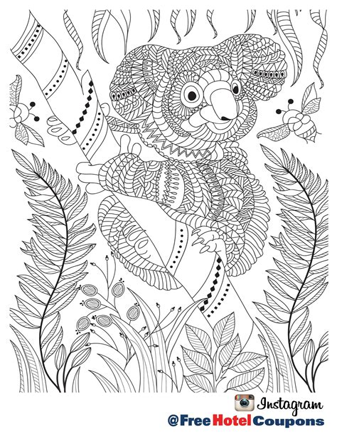 Ausmalbilder Mandala Erwachsene Tiere