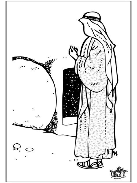 Ausmalbilder Ostern Biblisch