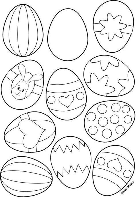 Ausmalbilder Ostern Einfach