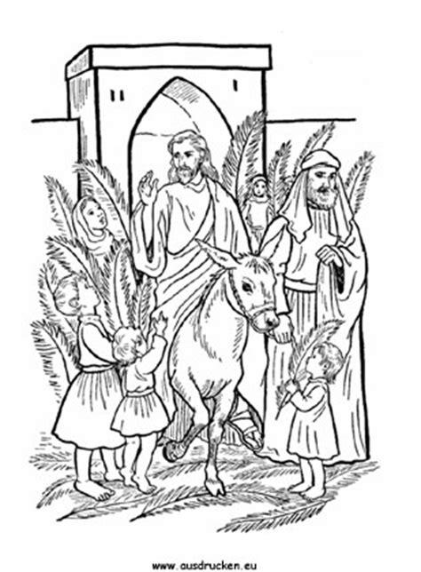 Ausmalbilder Ostern Jesus
