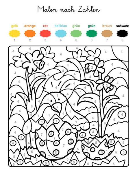 Ausmalbilder Ostern Malen Nach Zahlen