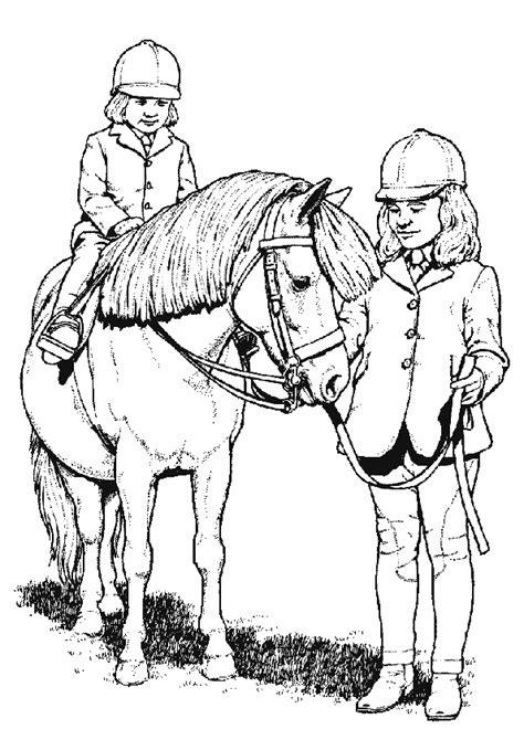 Ausmalbilder Pferde Gratis Zum Drucken