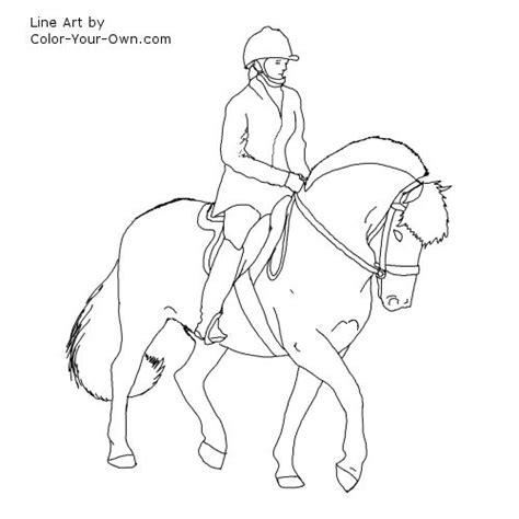 Ausmalbilder Pferde Norweger