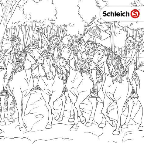 Ausmalbilder Pferde Schleich