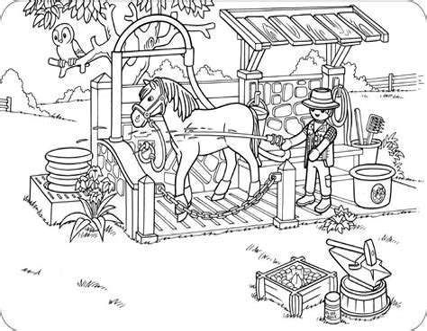 Ausmalbilder Playmobil Baby