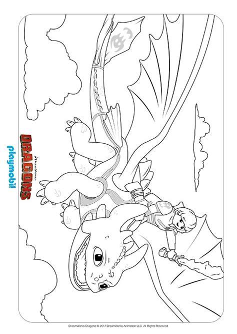 Ausmalbilder Playmobil Dragons