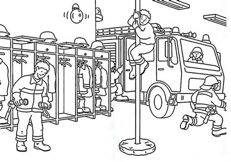 Ausmalbilder Playmobil Feuerwehr