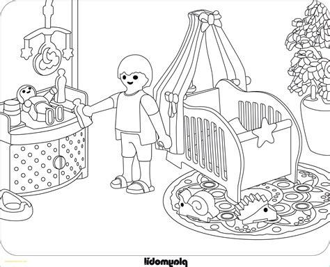 Ausmalbilder Playmobil Wohnhaus