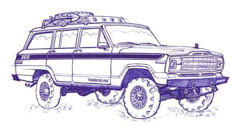 Ausmalbilder Polizei Jeep