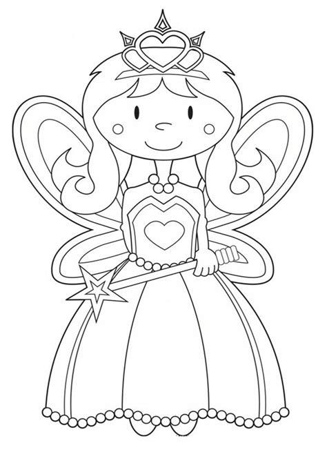 Ausmalbilder Prinzessin Feen