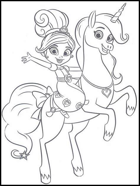 Ausmalbilder Prinzessin Nella
