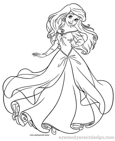 Ausmalbilder Prinzessin Pdf