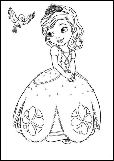 Ausmalbilder Prinzessin Sofia