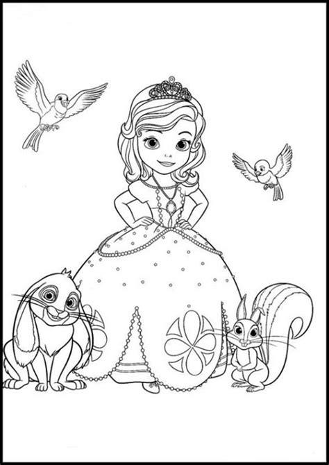 Ausmalbilder Prinzessin Sofia Zum Ausdrucken