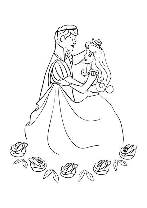 Ausmalbilder Prinzessin Und Königin