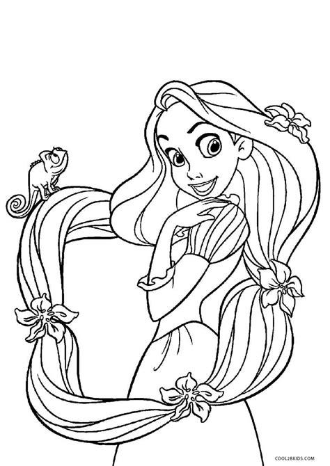 Ausmalbilder Rapunzel Malvorlagen Für Kinder