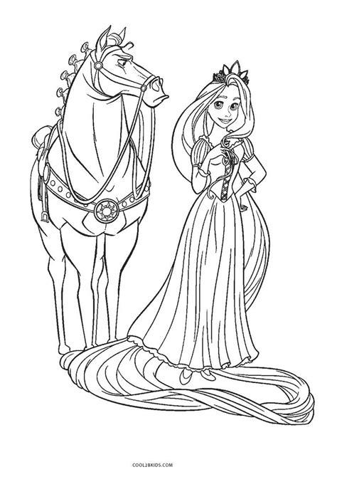 Ausmalbilder Rapunzel Malvorlagen Torte