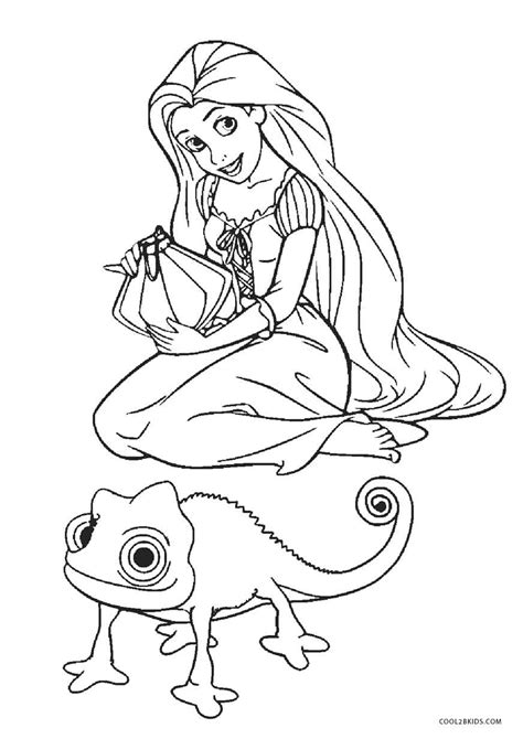 Ausmalbilder Rapunzel Malvorlagen Videos