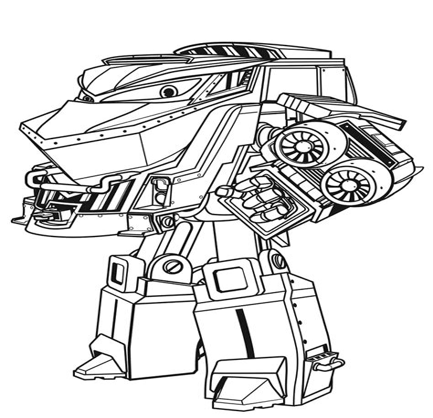 Ausmalbilder Roboter Kostenlos