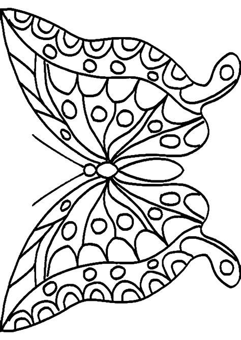 Ausmalbilder Schmetterling Mit Blume