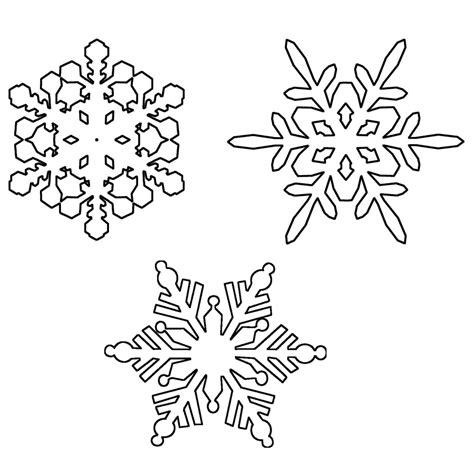 Ausmalbilder Schneeflocken Kostenlos