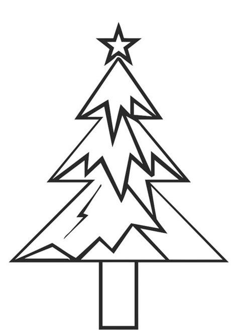 Ausmalbilder Tannenbaum Mit Weihnachtsstern