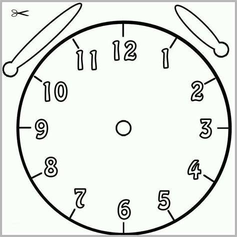 Ausmalbilder Uhr Lernen